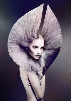 Australian Hair Fashion Awards 2014 | Hair by Chung-Yang Su | Makeup by Sarah Baxter | Photo by Rokk Ebony