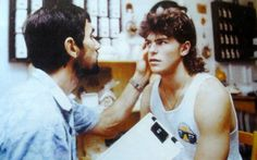 Jaromir Jagr gets checked out by a doctor prior to a game. Tired Eyes, Spin, Hockey, Detox, Eye Candy, My Love, Flow, Ice, Ice Cream