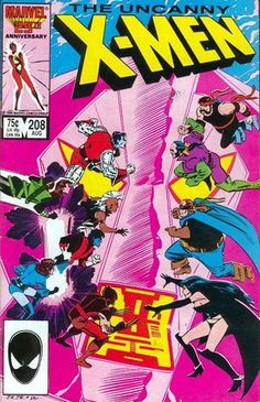 Uncanny X-Men Vol 1 208