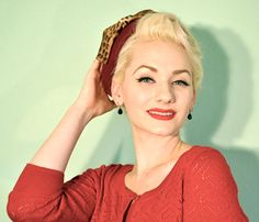 Pill Box Hat with Leopard Bow  Vintage Pinup by TaraMiSioux, $64.00