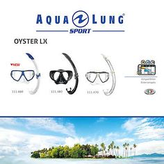Aqua lung sport oyster lx mask & #snorkel #combo set for sea #snorkeling #diving,  View more on the LINK: 	http://www.zeppy.io/product/gb/2/361564983247/