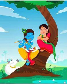 Radha Krishna Holi, Radha Krishna Images, Lord Krishna Images, Krishna Pictures, Krishna Art, Radhe Krishna, Little Krishna, Baby Krishna, Cute Krishna