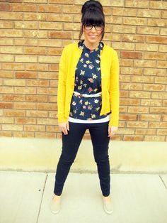 floral+nerd glasses