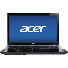 Acer - Aspire 17.3 Laptop - 8GB Memory - 750GB Hard Drive - Midnight Black