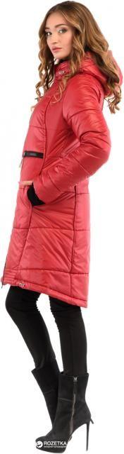 Пальто-пуховик Milhan 1772 36 Красный (2000000029757)