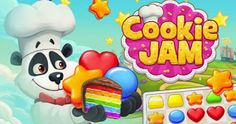 Jam stars a cuddly bear that has a passion for baking and needs your help. - Tips for kindle & games -Cookie Jam stars a cuddly bear that has a passion for baking and needs your help. - Tips for kindle & games -