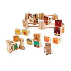 Brinquedos de madeira Kitopeq.