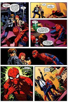 Hes freakin spiderman