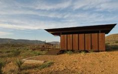 cinco camp, brewster county, texas | Residential Architect | Modular Building, Prefab Design, Projects, Design, Metal, Midland, TX, Rhotenberry Wellen Architects, LP Building Products, Sherwin-Williams, Hubbell Lighting, Texas