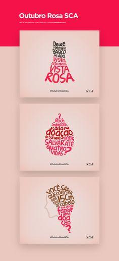 Outubro Rosa SCA on Behance