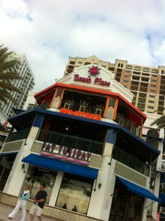 Nothing beats Hooter's wings on the beach!  Hooters in Fort Lauderdale, FL