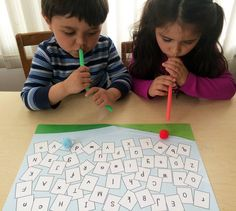 Letters in the Wind, literacy game, to go along with May's Ivy Kids kit featuring the book The Wind Blew by Pat Hutchins. Literacy Games, Science Activities, Activities For Kids, Bubble Painting, Bubble Art, Kits For Kids, Games For Kids, Teaching Reading, Fun Learning