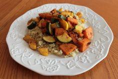 Vegan Chipotle Yams and Zucchini w. Quinoa - I Eat Trees