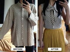 12 Amazing Winter-to-Summer Clothing Refashions
