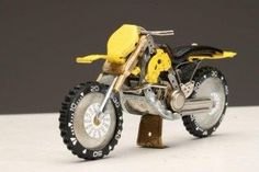 Motorcycles made of Watch Parts