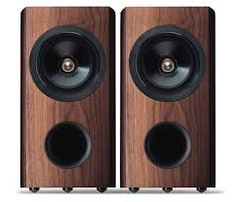Image result for walnut speakers