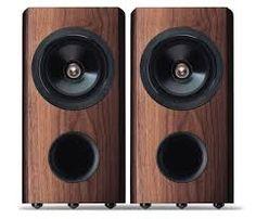 Image result for walnut speakers