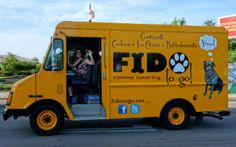 Just like food trucks for humans, food trucks for dogs are taking off in rapid fashion.