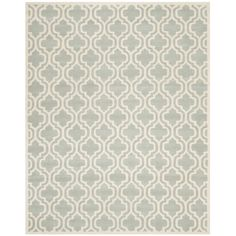 Safavieh Handmade Moroccan Chatham Gray Pure Wool Rug (8' x 10') | Overstock.com Shopping - Great Deals on Safavieh 7x9 - 10x14 Rugs