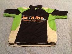 Mr.Coffee Miami Man Triathalon Cycling Running Bike Shirt Sz Small #UnbrandedGeneric