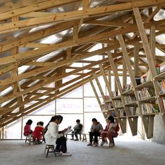 Small Project of the Year 2014 award goes to<br /> a community library with a rooftop playground