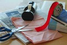 Gift Wrapping Gone Green. Be green when wrapping gifts. Reuse wrapping paper from the previous year or use recycled paper, maps, magazines, newspaper, or even packing paper from packages you receive. Also, don't forget to save your used wrapping paper for next year.   http://www.epa.gov/waste/wycd/winter.htm
