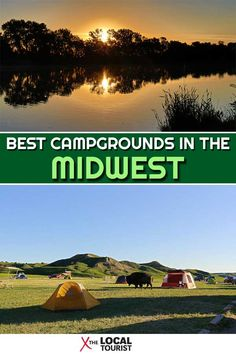 Need a new camping adventure? Check out the best places to camp in the Midwest. These Midwest campgrounds will have you on the road and eating 'smores in no time. Itasca State Park, Best Campgrounds, Best Places To Camp, Badlands National Park, State Forest, Camping Glamping, Picnic Area, Where To Go, Travel Usa