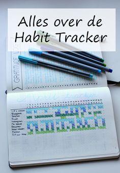 Alles over de Habit Tracker (ook wel Monthly Tracker): wat het is, hoe je er een maakt en inspiratie voor Habit Trackers.