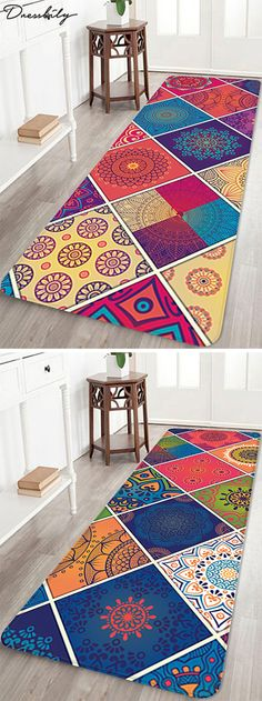 Bath rugs are essential - bath mats make cold tile floors comforta.Bath rugs are essential – bath mats make cold tile floors comfortable and help to prevent sli Chanel Inspired Room, Floor Rugs, Tile Floor, Affordable Area Rugs, Bath Mats, White Rug, Accent Rugs, Handmade Home Decor, Bathroom Rugs