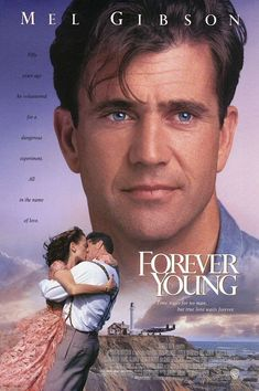 Forever Young A 1939 test piot asks his best friend to use him as guinea pig for a cryogenics experiment only to wake up in with Mel Gibson, Jamie Lee Curtis & Elijah Wood. Forever Young Mel Gibson, Forever Young Movie, Forever Young 1992, Films Cinema, Cinema Tv, Love Movie, Movie Stars, Movie Tv, Jamie Lee Curtis
