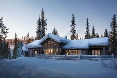 ostlaft Mountain Cottage, Mountain Homes, Alpine Lodge, Luxury Modern Homes, Chalet Design, Beauty Spa, Log Homes, Real Estate, Architecture