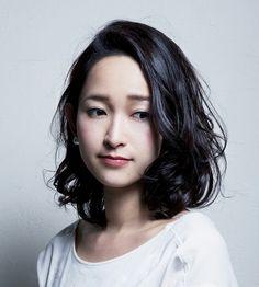 Japanese Hairstyle-medium length