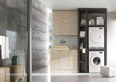 risultati immagini per mobile lavatrice asciugatrice | home ... - Bagno Lavanderia Ikea