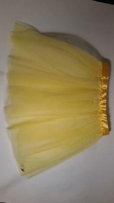 Yellow plain tutu