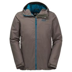 9fc70445fb33d Jack Wolfskin Men s Chilly Morning Insulated Waterproof Jacket - Night Blue