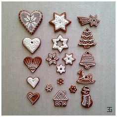 Christmas Biscuits, Christmas Treats, Christmas Baking, Christmas Holidays, Gingerbread Decorations, Gingerbread Cookies, Christmas Challenge, Merry Christmas And Happy New Year, Holiday Cookies