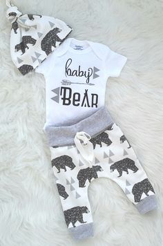 8931e3572aa2 Baby boy coming home outfit/baby bear/ take home outfit/ newborn  boy/organic cotton