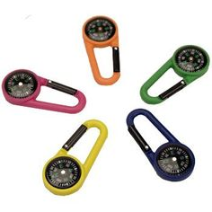 Compass Carabiner Style Design Non Weight Bearing Composite Plastic Explorer