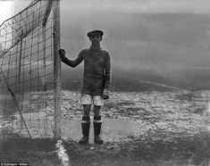 1925:Muddersfield — sorry, Huddersfield — looked a lonely place for goalkeeper Billy Merc...