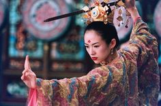 The House of Flying Daggers Zhang Ziyi actress asian oriental warriors weapons sword katana kimono women babes face martial arts sports brunette wallpaper Zhang Ziyi, Dark Fantasy, Andy Lau, Gong Li, House Of Flying Daggers, Female Martial Artists, Female Assassin, Culture Art, Chinese Culture