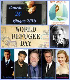 20 GIUGNO 2016 - Lunedì - GIORNATA MONDIALE DEL RIFUGIATO Buongiorno! Buon lunedì, buona settimana!! Compleanni, addii, storia e le notizie curiose: Almanacco completo in 1 clik sul blog ----> http://tucc-per-tucc.blogspot.it/2016/06/20-giugno-2016-lunedi-giornata-mondiale.html