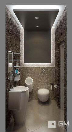 11 Inspiring Bathroom Ceiling Ideas - Houspire