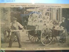 Press clipping about the Flower Village orphanage