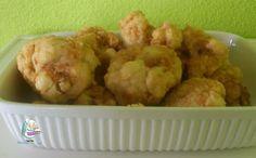 Receta de arbolitos de coliflor caseros #verduras #coliflor