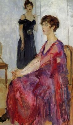 The Athenaeum - Ippy and Gertie (Isaac Israels - )