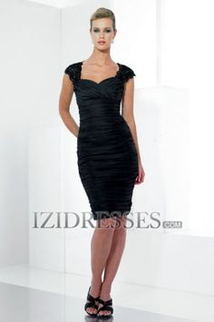 Sheath/Column Sweetheart Straps Taffeta Mother of the Bride Dresses - IZIDRESSES.com