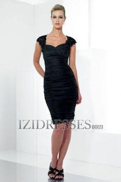 Sheath/Column Sweetheart Straps Taffeta Mother of the Bride Dresses - IZIDRESSES.com