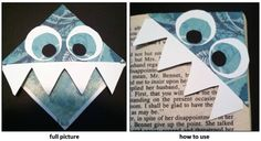 Monster Corner Bookmark :)