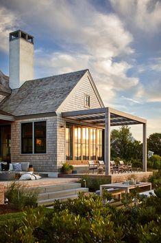 Modern Exterior, Exterior Design, Indoor Outdoor Living, Maine House, Nantucket, Architecture, Future House, Beautiful Homes, Arquitetura