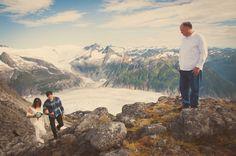 Mountain Top Wedding, Glacier Wedding, Wedding Photos, Alaska Wedding, Juneau Alaska